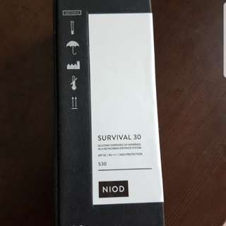 BNIB NIOD SURVIVAL 30 HIGH PROTECTION 30ML