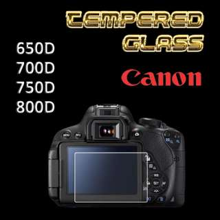 Canon 750D Tempered Glass Protector