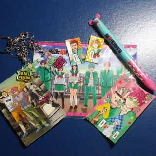 Saiki Kusuo Merchandise