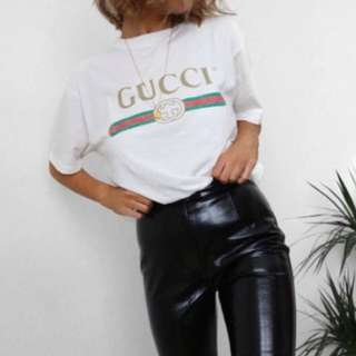 Gucci Tshirt Womens Or Kids Size 8-10