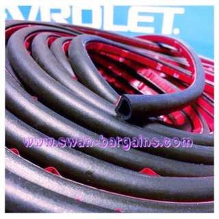 Universal Small D Car Door Boot Soundproof Wind Strip Rubber Tubing Seal With 3M Backing Adhesive Tape Toyota Vios VW Polo Golf Jetta Lancer CS3 etc