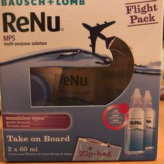Bausch & Lomb ReNu Contact Lens Solution