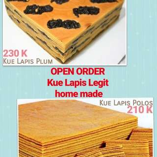 Kue Lapis Legit SUPER ENAK home made