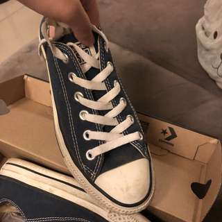 Converse All Star Ox Navy (AUTHENTIC)