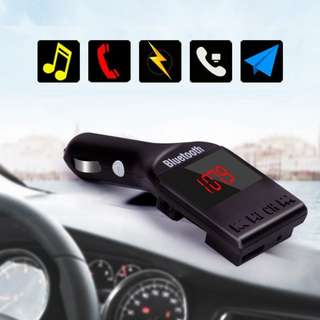 All in 1 Bluetooth car Transmitter with remote control