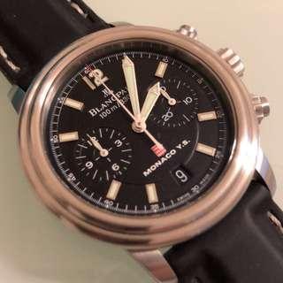 寶柏Blancpain 飛返計時錶(38mm)
