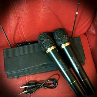 Wireless Microphone.