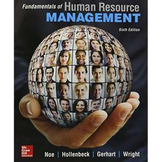 HP8005 Introduction to Human Resource Management