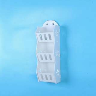 Storage Decorative Rack Shabby chic rak kosmetik hp remote dll