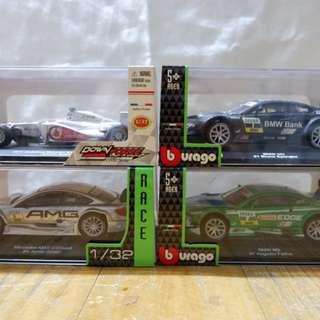 Burago Die Cast Metal Cars
