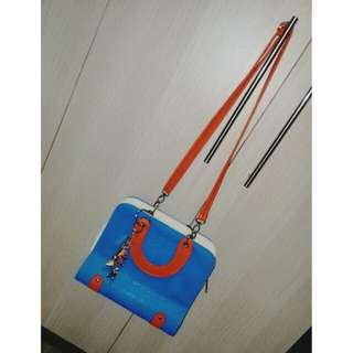 Cute bag w/ keychain (repriced)