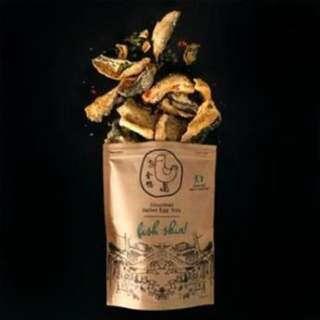 代購新加坡人氣食品 金鴨 鹹蛋味魚皮/薯片