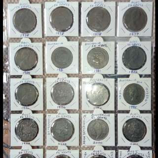 Old Australian Coins