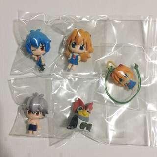 Rare Assorted Japan Bandai/Takara Tomy Arts Gashapon EVA Evangelion Character Gacha