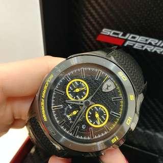 法拉利膠帶手錶
