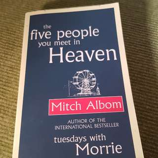 The Five People You Meet in Heaven by Mitch Albom (Paperback)