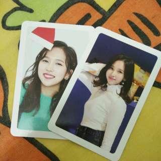 WTS Mina Photocard