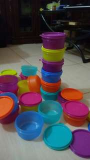 Tupperware bowl ukuran 200 ml jual ecer