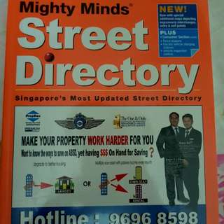 Latest 2018 Street Directory