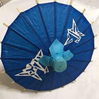 Foldable Paper Umbrella - Japanese