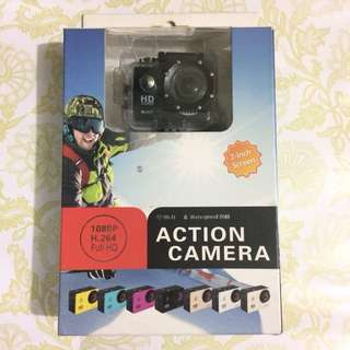 "ETCAM ETC7 2"" Screen Underwater HD 1080P 12MP Wifi Sports Action Camera (Black)"