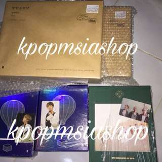 READYSTOCK BTS SEASON GREETINGS 2018 , BTS MEMORIES & WINGS TOUR DVD