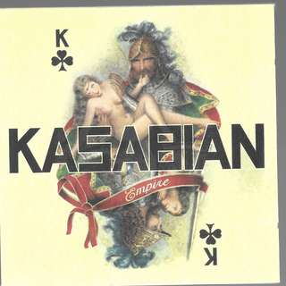 MY CD - KASABIAN -EMPIRE //FREE DELIVERY BY SINGPOST.(W6G)