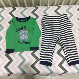 Mothercare george asda h&m uniqlo pyjamas sleepsuit sleepwear
