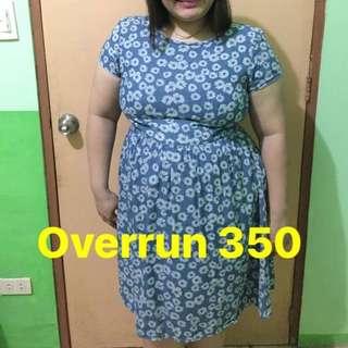 REPRICED!! Overrun plus size dress