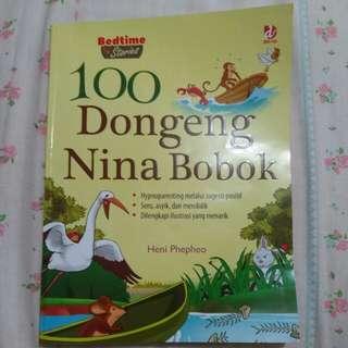 Buku 100 dongeng nina bobok ( 168 halaman )