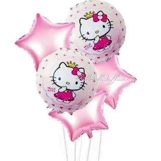 Hello Kitty balloon bundle set