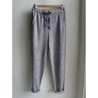 全新 綁帶伸縮休閒褲