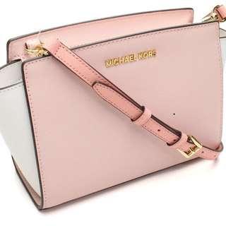 Michael Kors Selma Mini Saffiano Leather Crossbody Bag