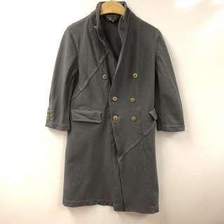 Comme des garçons gary long jacket size S