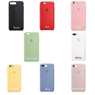 Official Apple Silicone Case