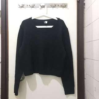 H&M 黑色冷衫