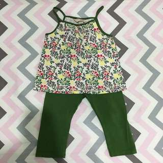 Poney top leggings set mothercare h&m uniqlo cottonon
