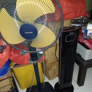 Standing Fan Two Pansonic and Tefal