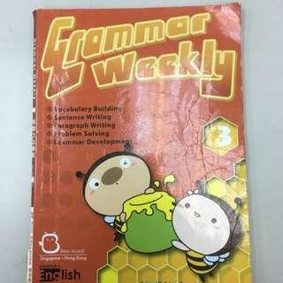 大量小學中學練習 English grammar weekly P3