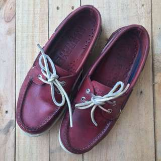 Sperry top-sider two eye bootsl