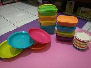 Tupperware set paket murah