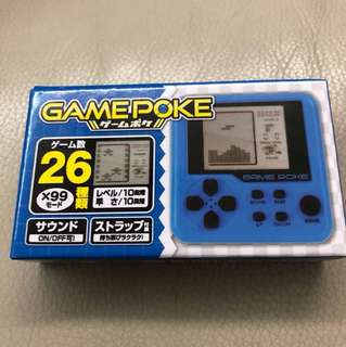 Gamepoke mini game console (blue)
