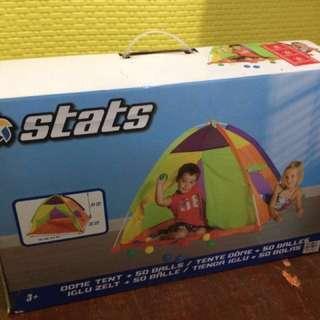 Dome Tent + 50 Balls