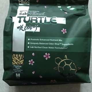 近全新日本高夠力Hikari「烏龜澤龜營養飼料大包裝567g」300元