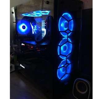 Gaming desktop Rgb custom built
