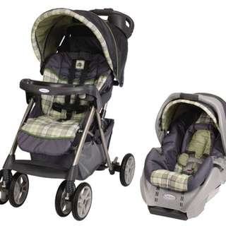 Stroller & Carseat Graco Classic Connect