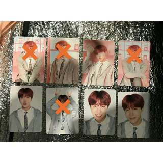 WTB BTS 4TH MUSTER Photocard / Cloud Card