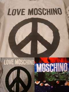 Moschino tee s size