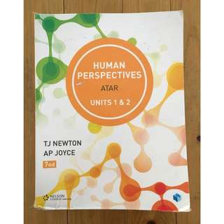 Human Perspectives Unit 1&2