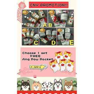 2 Sets FREE Cute Ang Pow Packet